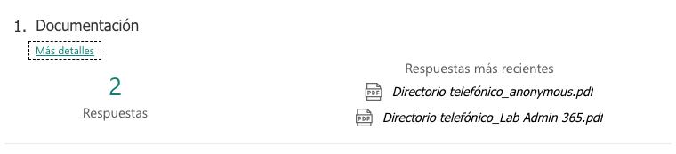 Microsoft Forms y su nuevo campo carga de documentos