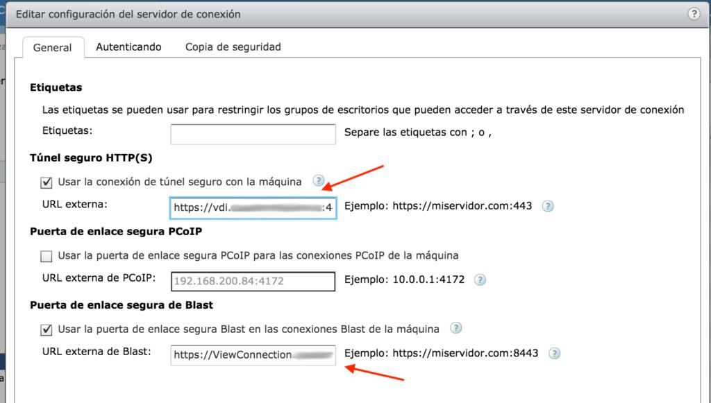VMware Horizon problema certificado