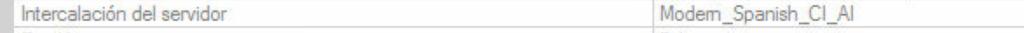 SQL Server intercalación instancia