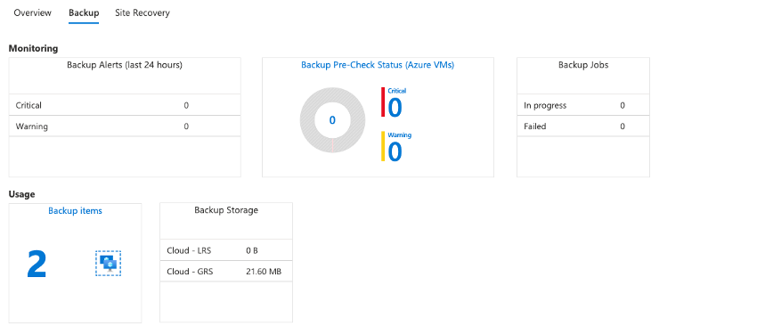 Ncora - Azure Backup 16
