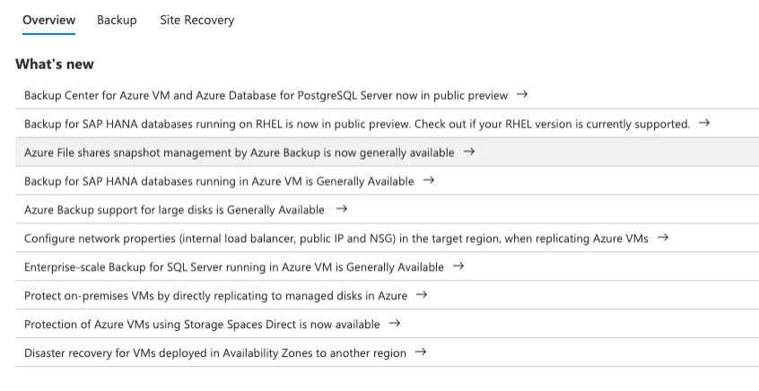 Ncora - Azure Backup 2